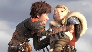 """""""Hiccup and Astrid"""" HOW TO TRAIN YOUR DRAGON 2 Movie Clip"""