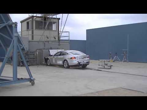 2013 Tesla Model S. Краш-тест NHTSA