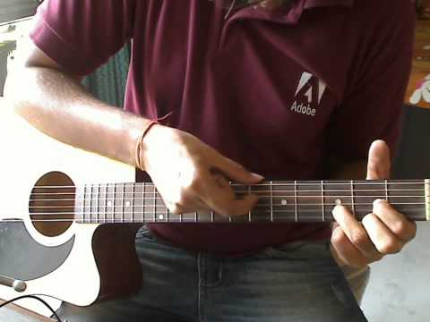 Pani Da Rang - Guitar Lesson - Njne video