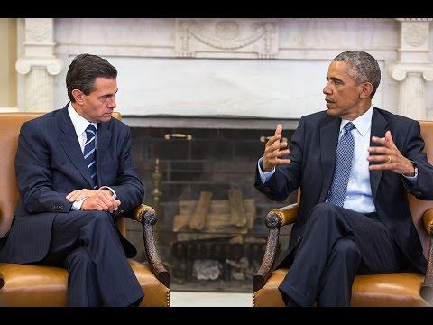President Obama Meets with President Nieto of Mexico
