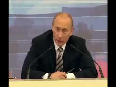 Неудобный вопрос Путину