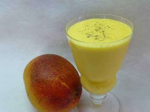 Mango Lassi - Mango Flavored Yogurt Drink