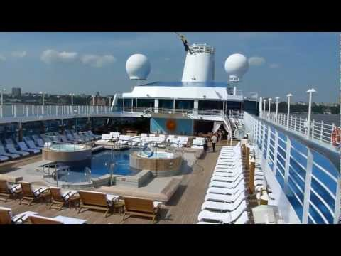 Tour of Oceania Cruises Regatta PT 1