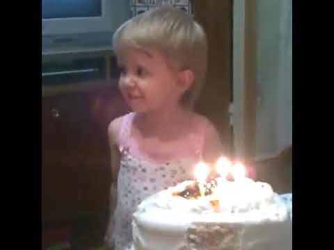 Приколы с детьми.Смешные моменты.Хочу большие сиськи.День рождение.Желание на день рождение.