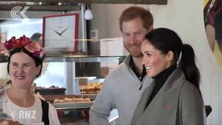 Royals 'taste a piece of NZ, piece of Wellington'