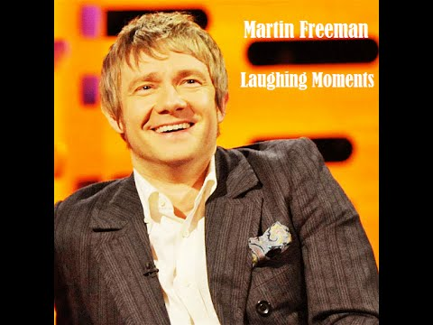 Martin Freeman Laughing Compilations and Bloopers
