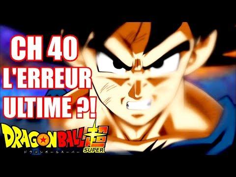 DRAGON BALL SUPER CH 40 : L'ERREUR DE TROP ?! (DBS)