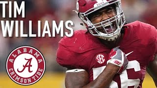 Tim Williams    Official Alabama Highlights