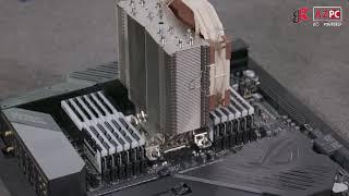 The monster: Asus C621 Dominus + Xeon W-3175X + SLI RTX 2080 Ti FE + 192GB TridentZ RGB 3000Mhz