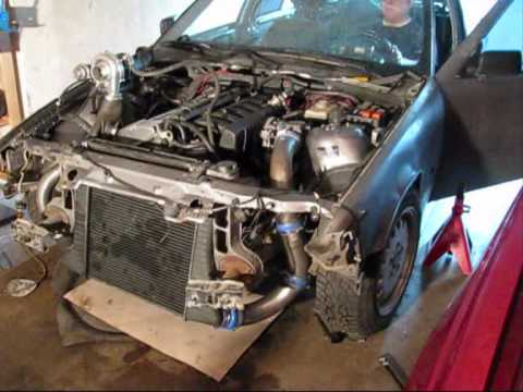 Bmw e36 320 Turbo uppstart Video