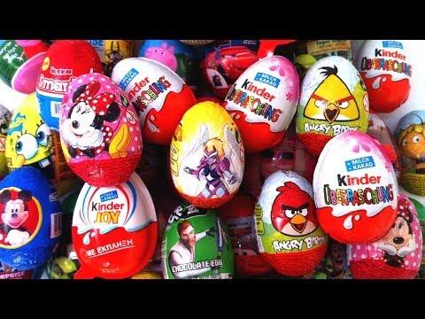 Play Doh Surprise Eggs Huevo Kinder Sorpresa unboxing easter eggs by Unboxingsurpriseegg