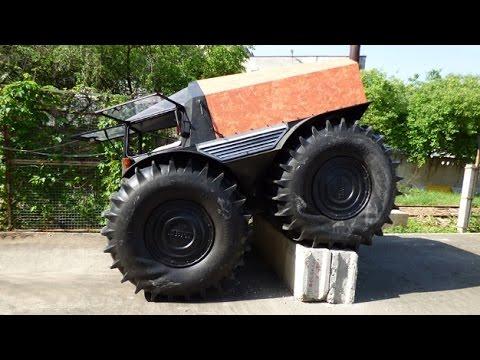 Российский вездеход «ШЕРП» признан лучшим в мире
