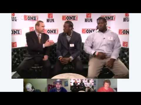 2013 NFLPA Debut - Orhian Johnson & Jonathan Cooper