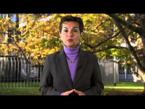 Christiana Figueres Executive Secretary of the UNFCCC's message