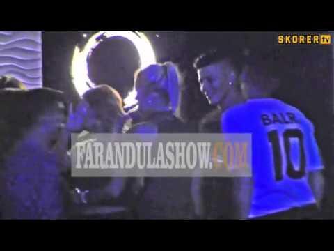 Marcos Rojo, Gonzalo Higuain futbolculardan skandal görüntüler