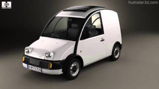 Nissan S-Cargo Canvas Top 1989 by 3D model store Humster3D.com