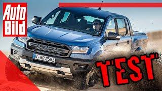 Ford Ranger Raptor (2019): Offroad - Pickup - Geländewagen - Fahrbericht