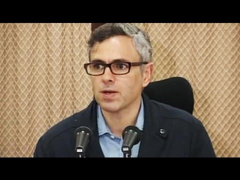 Omar Abdullah press confrence on Jammu and Kashmir flood situation