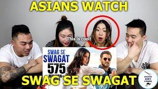 Swag Se Swagat Song   Tiger Zinda Hai   Reaction - Australian Asians