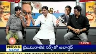 Onamalu - Rakhi Special Program Chit Chatwith Rajendraprasad onamalu Moive Team (TV5) - Part -10