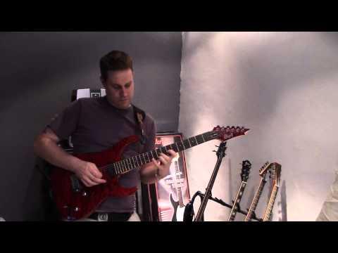 Demo Cort Aero 11 - impro guitar métal - cours de guitare marseille - Stephen G.