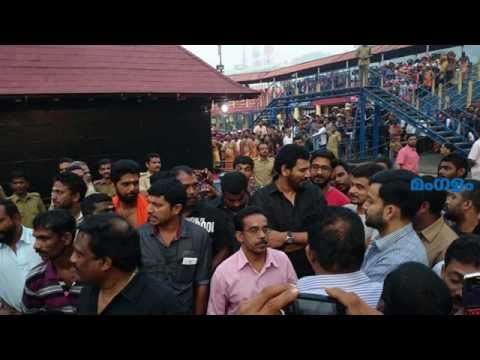 Prithviraj In Sabarimala video