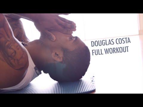 Soccer Conditioning Workout - Douglas Costa (FC Bayern Munich) Full Workout after Team-Training