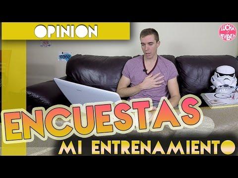 Las ENCUESTAS DEL CANAL | MIS ENTRENAMIENTOS 1