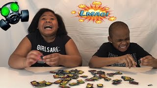 KIDS DO TOXIC WASTE CHALLENGE