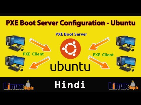complete pxe boot server tutorial Ubuntu 16  2018 in Hindi | network booting | PXE Server Setup