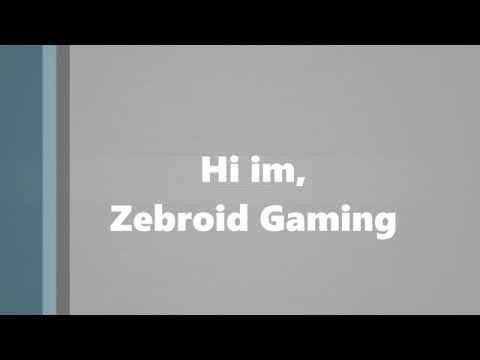 Gaming Channel Intro | Zebroid Gaming