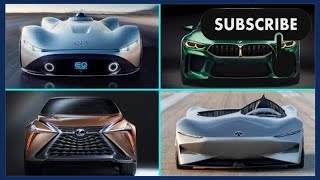 10 New Best CONCEPT Cars 2018-2019