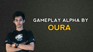 GAMEPLAY ALPHA BY OURA | DIJAMIN GG PARAH !!! + AUTO WIN & AUTO MVP !!!
