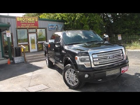2013 Ford F150 Platinum Ecoboost Review