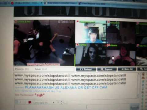 Of Mice & Men-Poker FAce LIVE! on Stickam