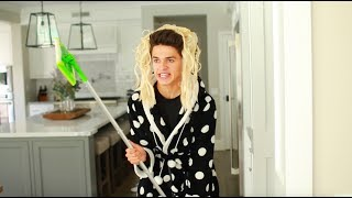 WHEN YOUR MOM IS ADDICTED TO CLEANING.. | Brent Rivera