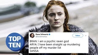 Top 25 Game of Thrones Memes | Ultimate Funny Meme Montage ft. Jon Snow, Sansa, Arya | Top 10 Daily