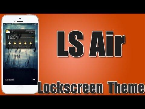 LS Air Super tema para tu Lockscreen