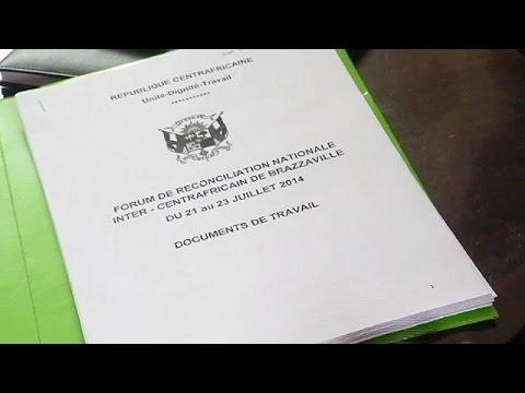 Centrafrique : signature d'un accord de cessez-le-feu fragile pour la paix