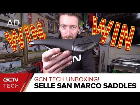 Unboxing Selle San Marco Saddles | GCN Tech Unboxing