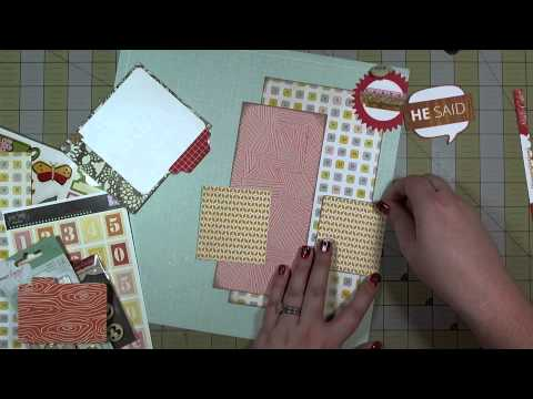 Scrapbook Layout: Almost Life-Sized!