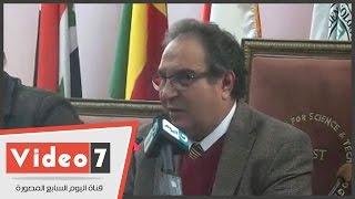 رئيس جامعة مصر: توفير مراكز بحثية وأماكن للمخترعين بالمقر الجديد