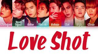Exo 엑소 39 Love Shot 39 Color Coded Han Rom Eng 가사