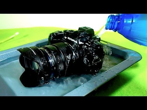 Drown it. Shoot it! - OMD EM1 Timelapse & Water Resistance tests...
