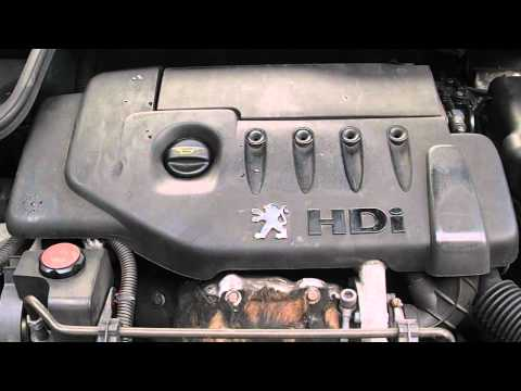 Peugeot 206 2002 1.4 HDi Diesel Engine Code HXF