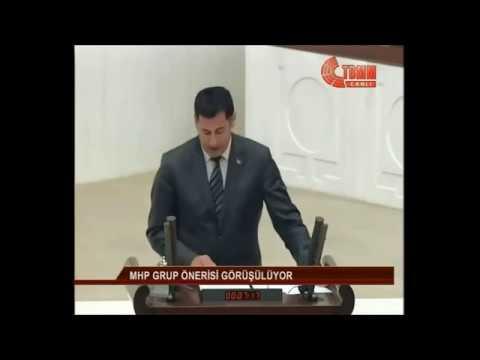 Sinan OĞAN'ın AKP'lileri Sus Pus Eden Diyarbakır Rezaletini Meclise Taşıdığı Tarihi Konuşması