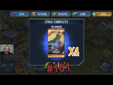 4 Paket Ödüllü Turnuva - Jurassic World # 101