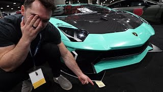 Scraped My New Lamborghini *Emotional*