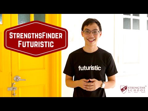 Gallup StrengthsFinder 'Futuristic' Youth Video Resource by Strengths School Singapore
