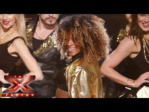 Fleur East semi final X Factor performance Uptown Funk